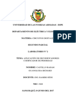 Diseñar Un Codificador de Prioridad de 4 Entradas E0E1E2E3 Autoguardado