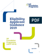 Eligibility Applicant Guidance UKFP 2019