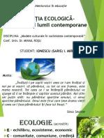 Educația  ecologica