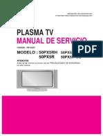 Lg Chassi Rf 052 c 50 Px 5 Rx Plasma