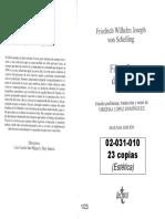 02031010 Schelling - Filosofía Del Arte Pp. 3-44