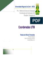 Sistema Coordenadas