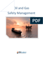 900- Oil and Gas Safety Managment