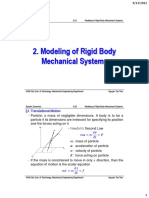 Ch.02 Modeling of Rigid Body Mechanical Systems_2