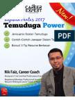 Nik Faiz Tips Temuduga Power 2017