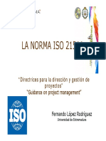 ISO 21500 Seminario