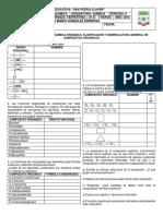 Actividad Colaborativa – Química Orgánica Clasificación y Nomenclatura General de Compuestos Orgánicos