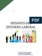 Taller Desafios Del Entorno Laboral