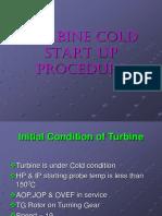 Cold Start Up