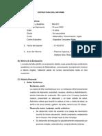 Estructura Del Informe de Mia Modificado 2
