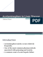 Acetaminophen in Liver Disease