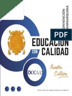 Educacion Con Calidad - Ponencias