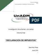 Redacción Informe Final