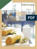 Carta Clasicos Spa