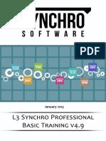 Synchro Professional Training
