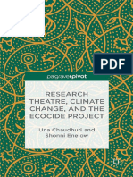 Research Theatre, Climate Change, And the Ecocide Project