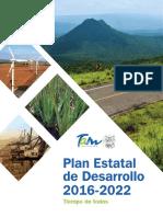 Plan Estatal de Desarrollo 2016 2022