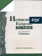 Hermeneutica y exégesis