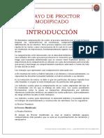 Ensayo de Proctor Modificado