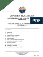 Instructivo_Aspirantes_2011-I