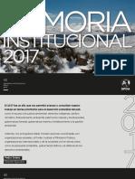 Memoria Institucional SPDA 2017