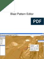Blast Pattern Editor