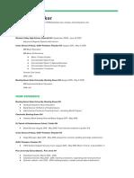 morgandecker - resume