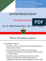3 Feasibility Analysis