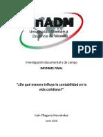 Informe Final - Integración y redacción del informe final