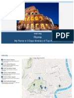 Rome My Rome in 3 Days Itinerary of Top Attractions 2018 03-11-08!22!54