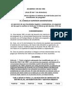 Acuerdo 100 de 1993
