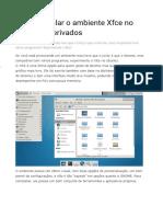 Instalar Ambiente Grafico Ubuntu Server