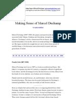 Making Sense of Marcel Duchamp _ Text Only