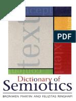 Dictionary of Semiotics