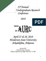 AURC 2018 Program