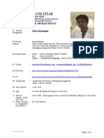Curriculum Vitae of Md. Murad Mufty