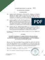 Acuerdo Ministerial 0082