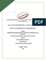 Diseño de Estrategias y Técnicas Didácticas Livia Torres