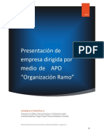 1. Presentación Empresa Ramo