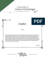 Chiquinha Gonzaga - Falena -Waltz for piano