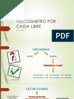 Viscosimetro Por Caida Libre