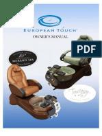 Owner Manual 110V