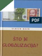 Ulrich Beck - Što Je Globalizacija