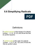 simplifyingradicalexpressionsrationalexponentsradicalequations-100625121017-phpapp01