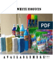 Deterdents Products