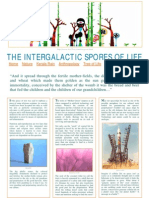 Intergalactic Spores of Life