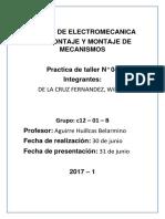Informe de Taller de Electromecanica (1)