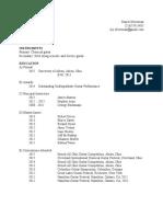 PDF Silverman CV 2015