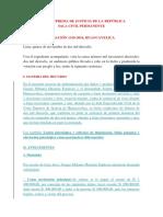 CASACIÓN 1318-2016, HUANCAVELICA Proceso de Indemnización Por Daños y Perjuicios,M