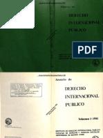 Anuario de Derecho Internacional Publico 1